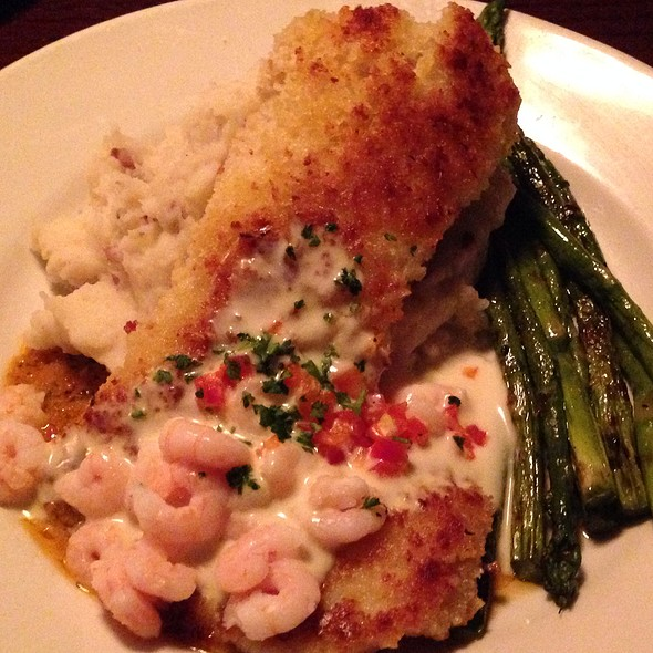 Snapper With Mash Potatos @ Oswego Grill