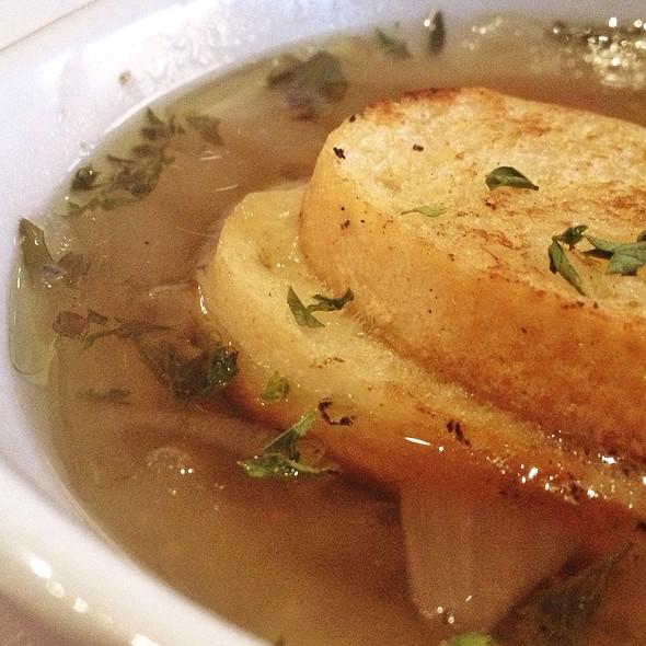 Rustic Onion Soup @ Dough