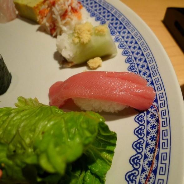 Toro Nigiri @ Nishimura Restaurant
