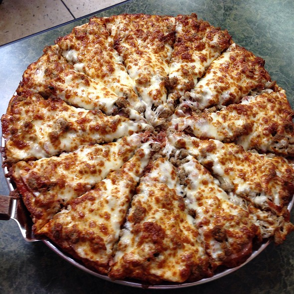 All-Meat Pizza @ Jordano's Pizza & More