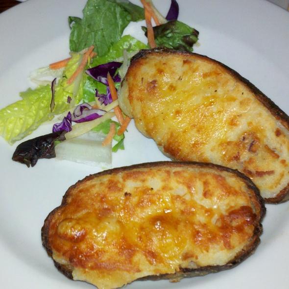 Double Stuff Potato - Kells Irish Restaurant & Bar, Seattle, WA