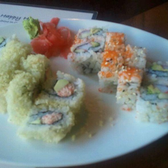Crunchy Roll @ Haiku Japanese Restaurant