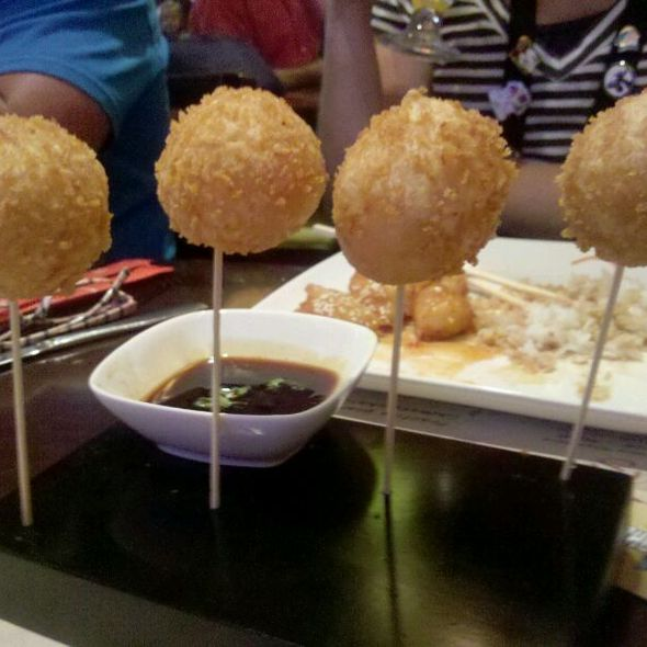 Shrimp Lollipop @ Epcot - China Pavilion