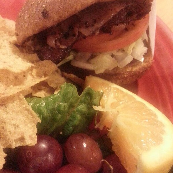 Duck Burger @ Dairy Palace Restaurant of Canton