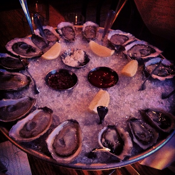 Oysters, 5 Kinds @ Prime Meats