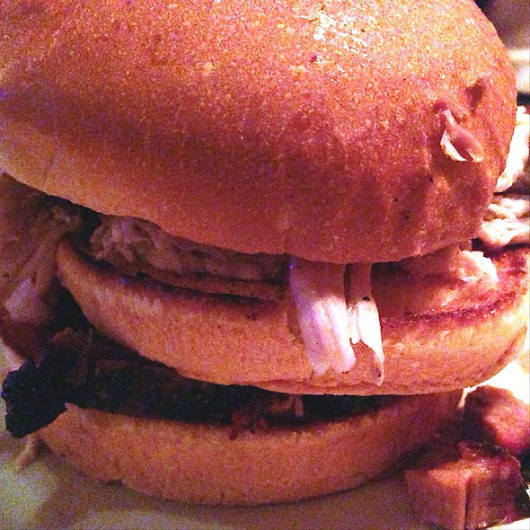 Double Decker Sandwich @ jim n nicks bbq