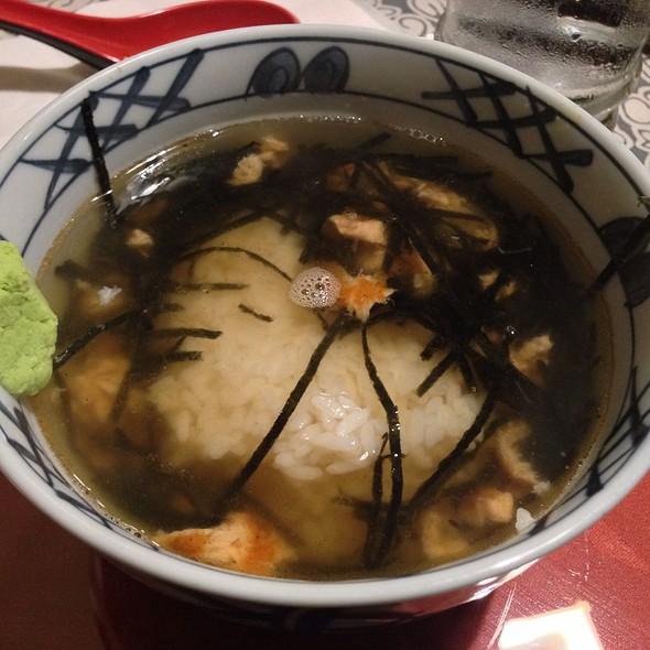 Sake Chazuke