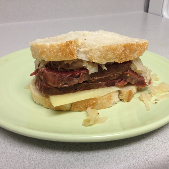 Pickled Tongue Sandwich @ My New Kitchen