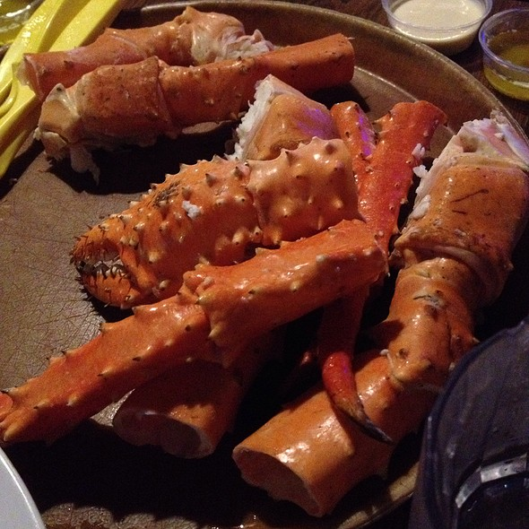 Alaskan King Crab Legs @ Bob Chinn's Crabhouse