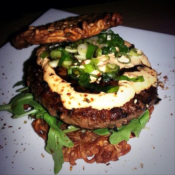 ramen burger @ Shabu Club