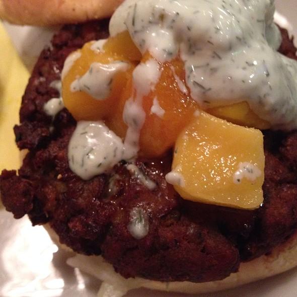 Falafel & Fruit Burger - Dish on Market, Louisville, KY
