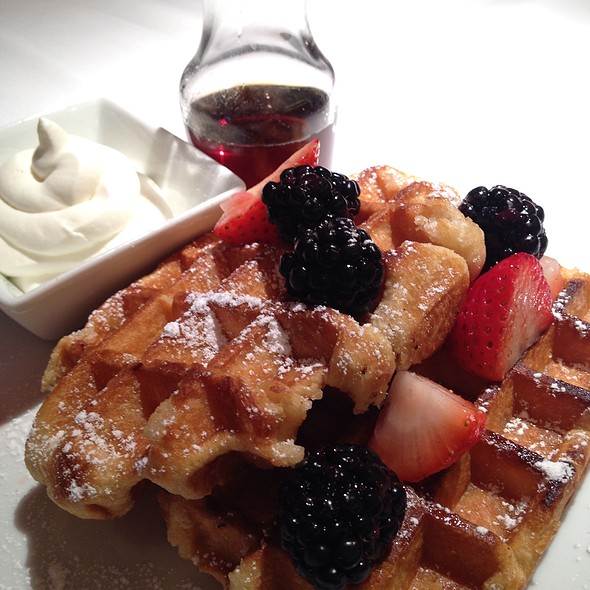Waffles - FIG & OLIVE Meatpacking, New York, NY