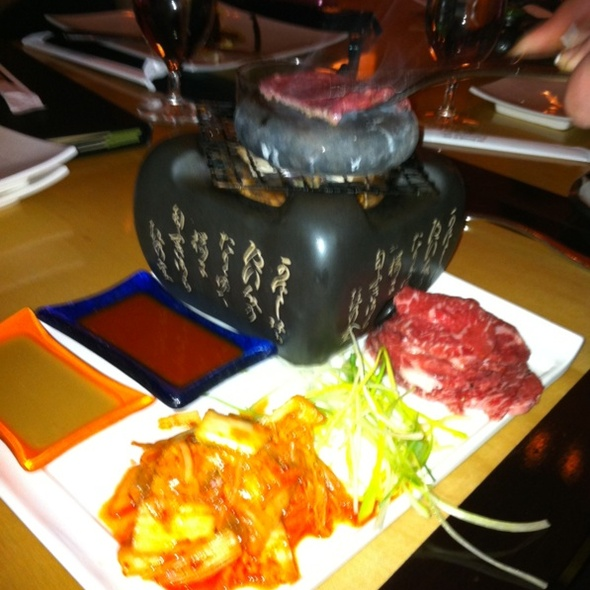 Hot Rock with Wagyu @ Zengo
