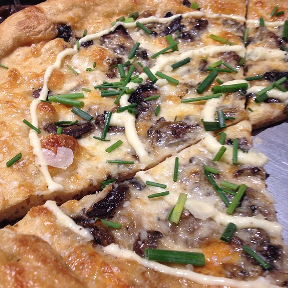 Holy Shitake Pizza  @ Mellow Mushroom Mckinney