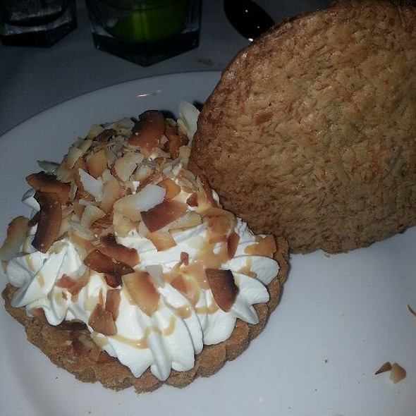 Coconut Cream Pie - The Capital Grille - Chevy Chase, Chevy Chase, MD