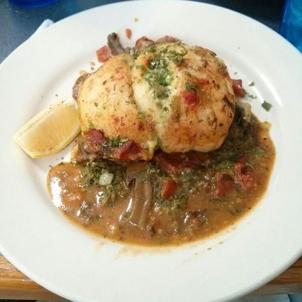 Grouper Athenian @ Santorini Greek Cuisine