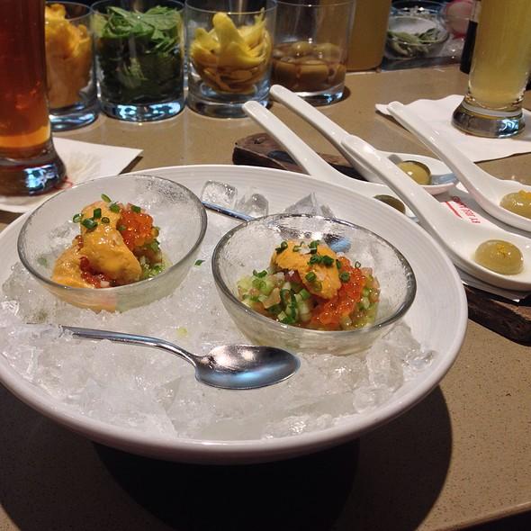 Liquid Olives & Sea Urchin @ Jaleo