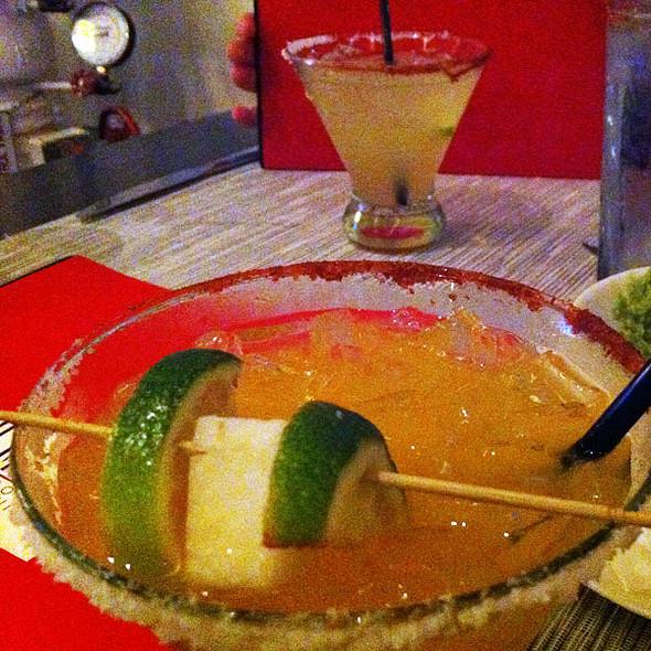 Caliente Clementine Margarita - Komali Restaurant, Dallas, TX