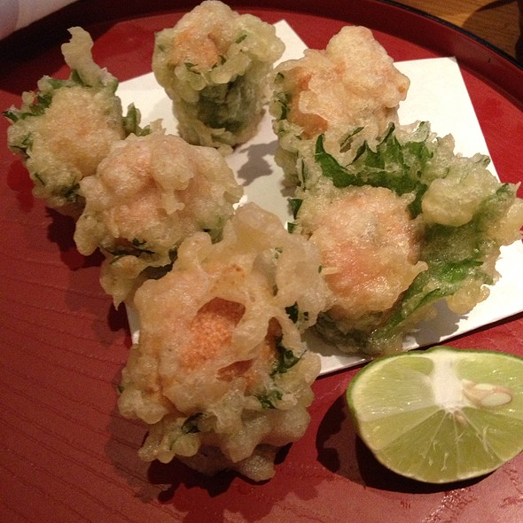 Spicy Cod Roe Tempura