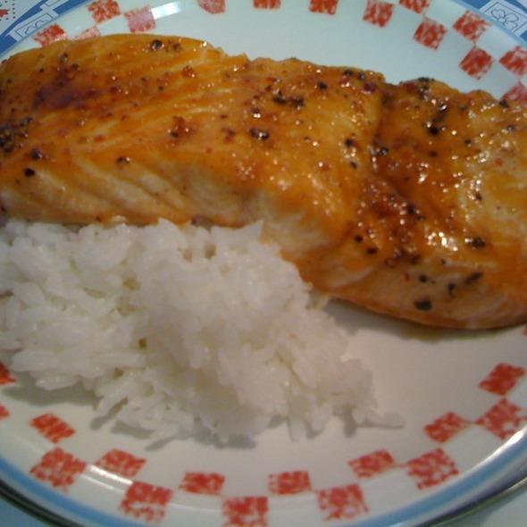 Korean Salmon @ Kam's Home Kitchen
