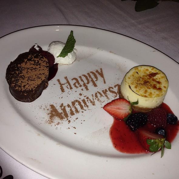 Complimentary desserts - The Capital Grille - Kansas City, Kansas City, MO