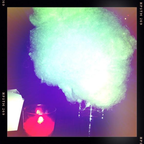 Cotton candy @ Red Lulu Mexican