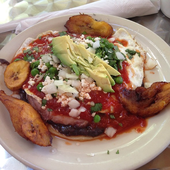 Huevos Motuleños @ Kerbey Lane Cafe - Southwest