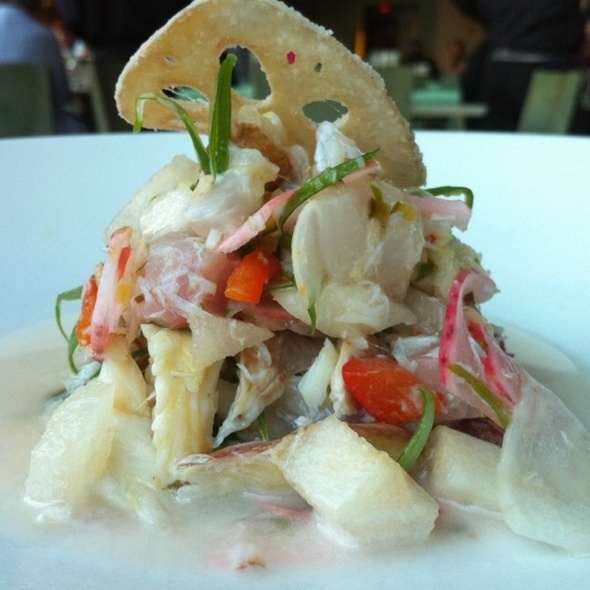 Blue Crab Ceviche - Reef, Houston, TX