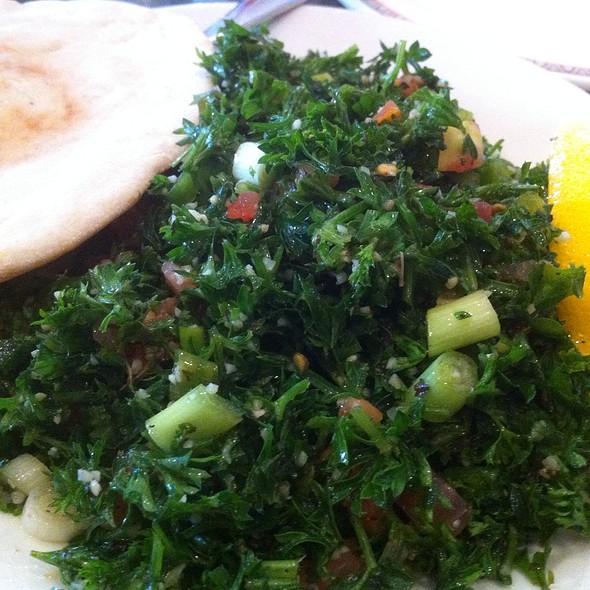 Tabouli @ Lebanese Grill