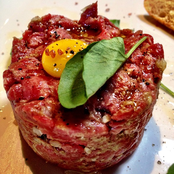 Steak Tartare With Quail Egg @ Cowboy Star Restaurant & Butcher Shop