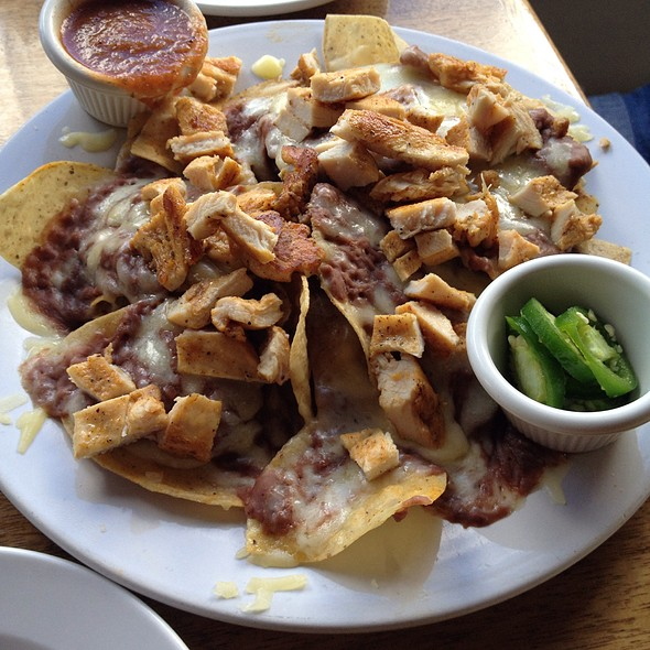 Nachos @ Blue Water Grill