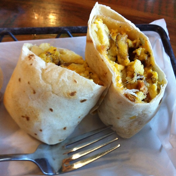 Potato Bacon Breakfast Wrap