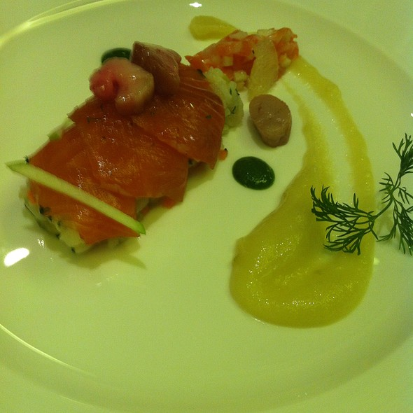 Cured Salmon @ Four Seasons Hotel Beijing 北京四季酒店