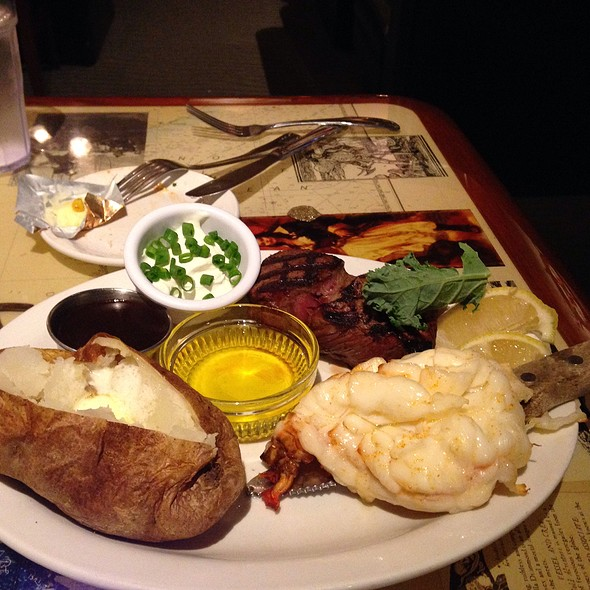 Lobster Tail And Sirloin Steak - Rudy's Hideaway, Rancho Cordova, CA