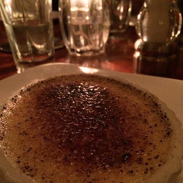 vanilla custard - Ten Mercer, Seattle, WA