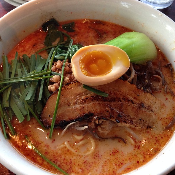 Tan Tan Men Ramen (Red) @ Ramen Parlor