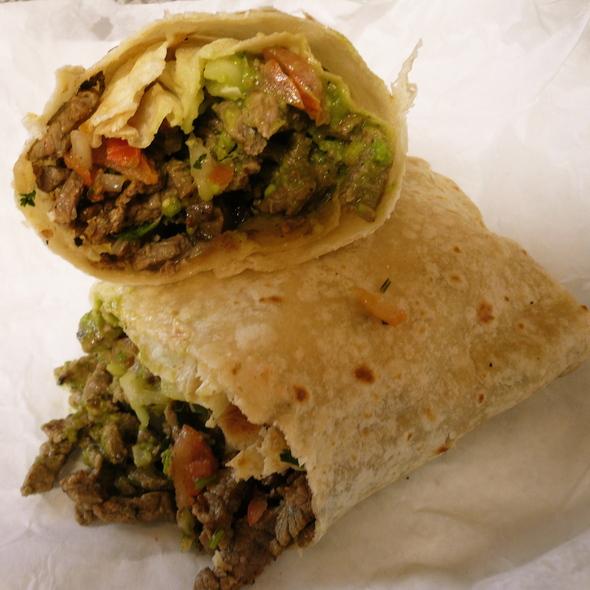 Carne Asada Burrito @ Colima's Mexican Food