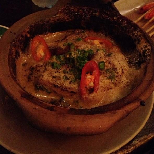 Fish in clay pot