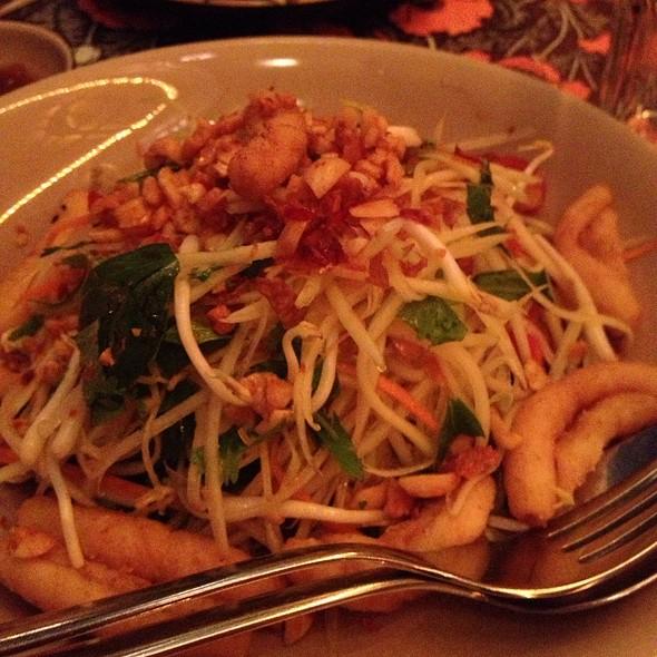 Squid & Papaya Salad