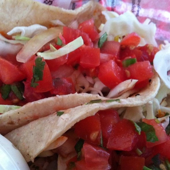 Buffalo Chicken Tacos - Big Fish Tavern, Laguna Beach, CA