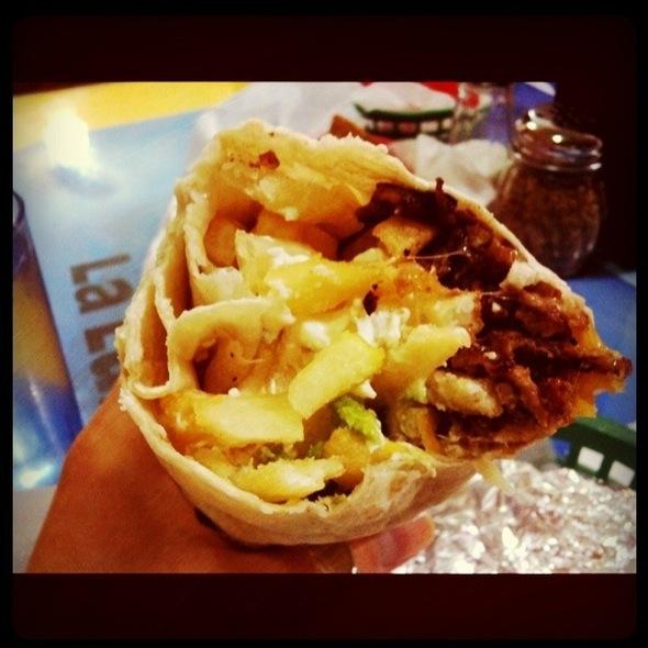 California Burrito @ Taqueria Los Coyotes