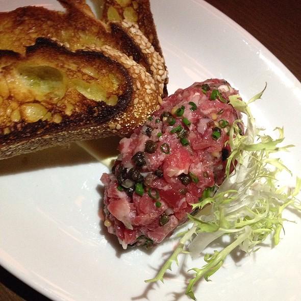 steak tartare @ King + Duke