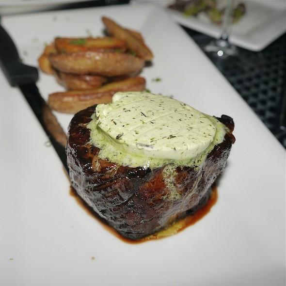Black Angus New York Strip Steak @ The House