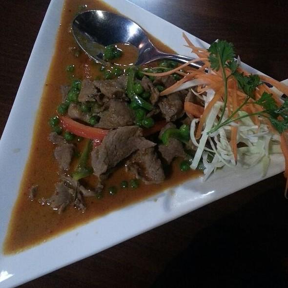 panang curry - Ban Chok Dee Thai Cuisine, Langley, BC