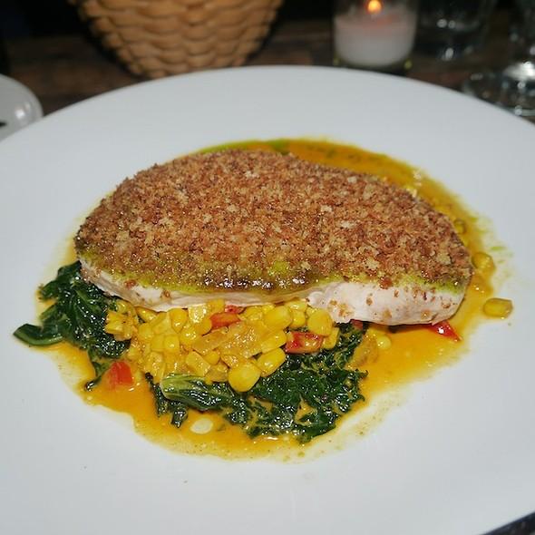 Pan Roasted Salmon @ De Santos Restaurant