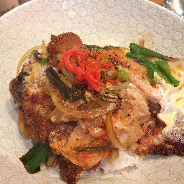 Kimchi Katsudon @ Tokyo Maki