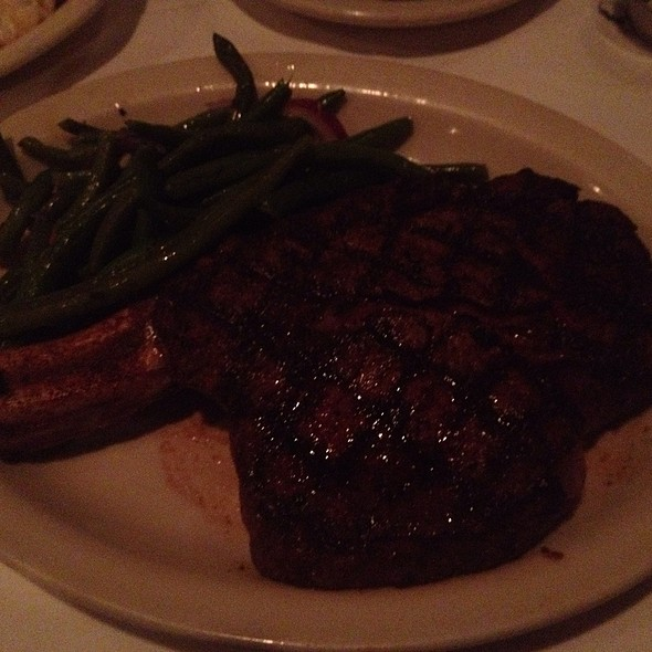 Cowboy Cut Ribeye - St. Elmo Steak House, Indianapolis, IN