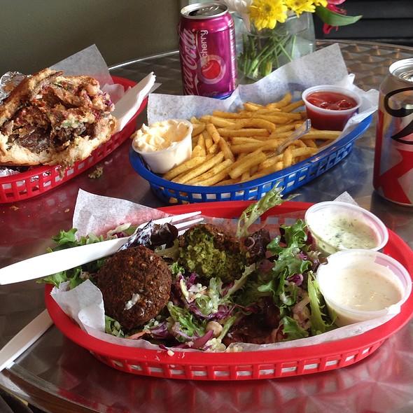 Falafel Salad @ Amsterdam Falafel and Kabob