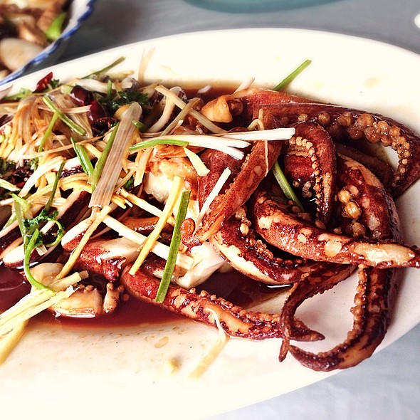 Crispy Fried Octopus @ Xie Wang Fu - Emperor's Crab Palace