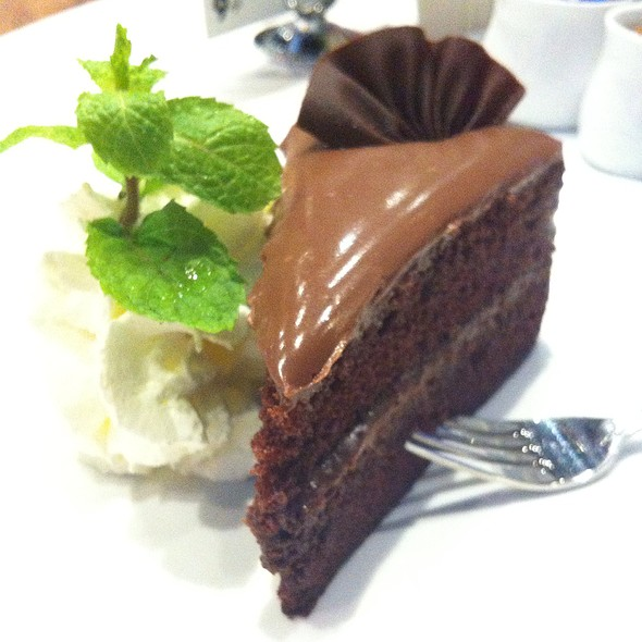 Choclate Cake @ The 9th Cafe' (Siam Discovery)
